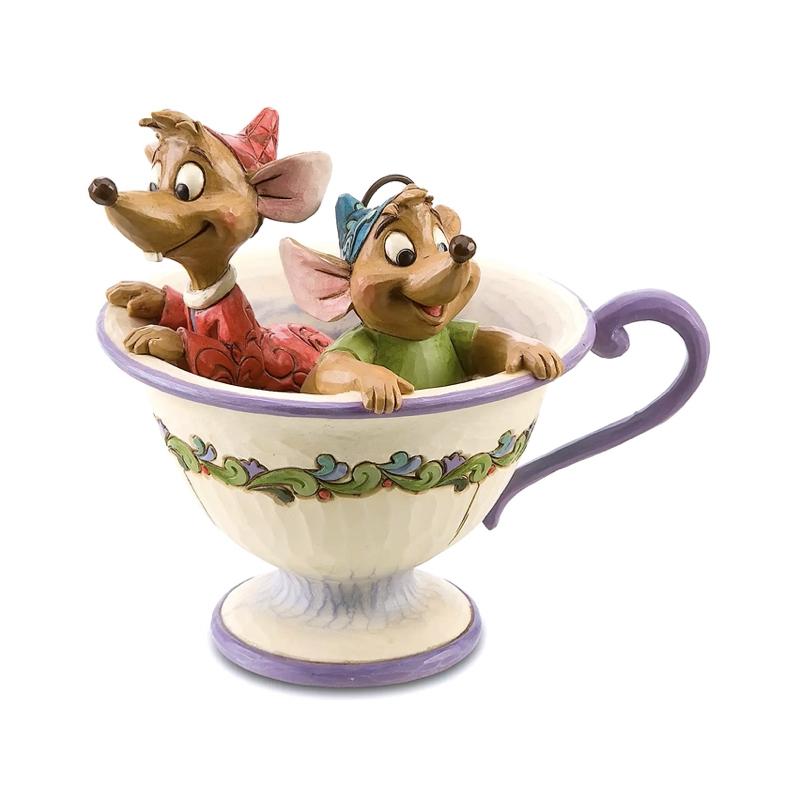 خرید فیگور موش های سیندرلا در فنجون jaq & gus