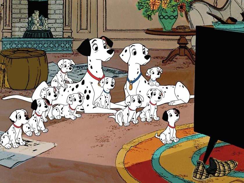 فکت انیمیشن ۱۰۱ سگ خالدار