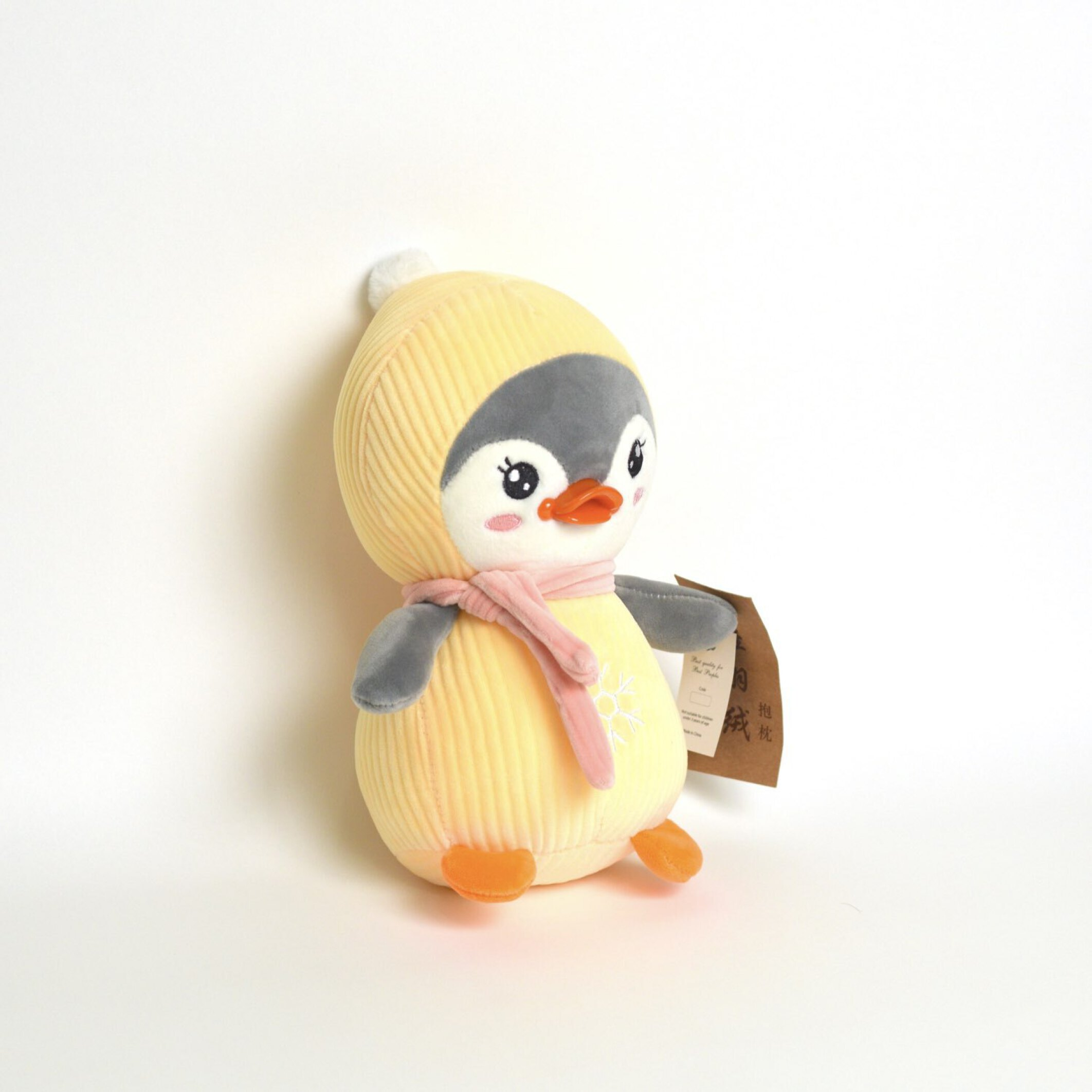 عروسک پولیشی پنگوئن با شال گردن