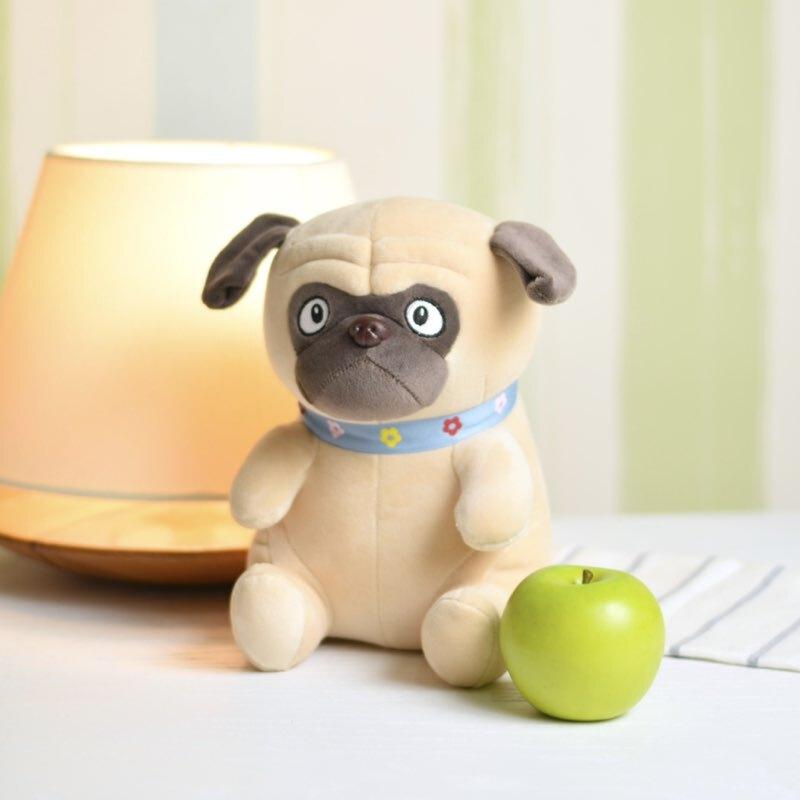 عروسک پلاش سگ بولداگ