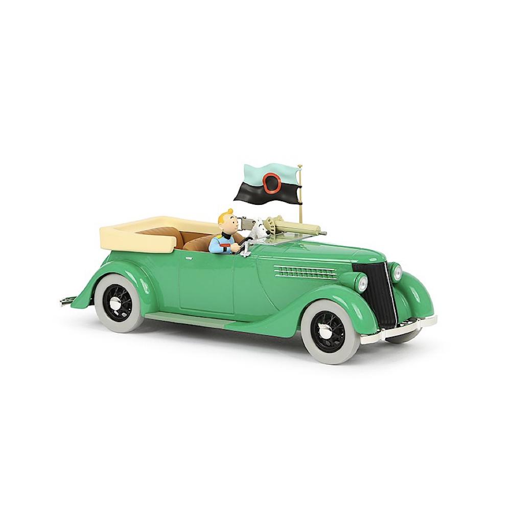 خرید ماشین تن تن the green armoured car 1/24