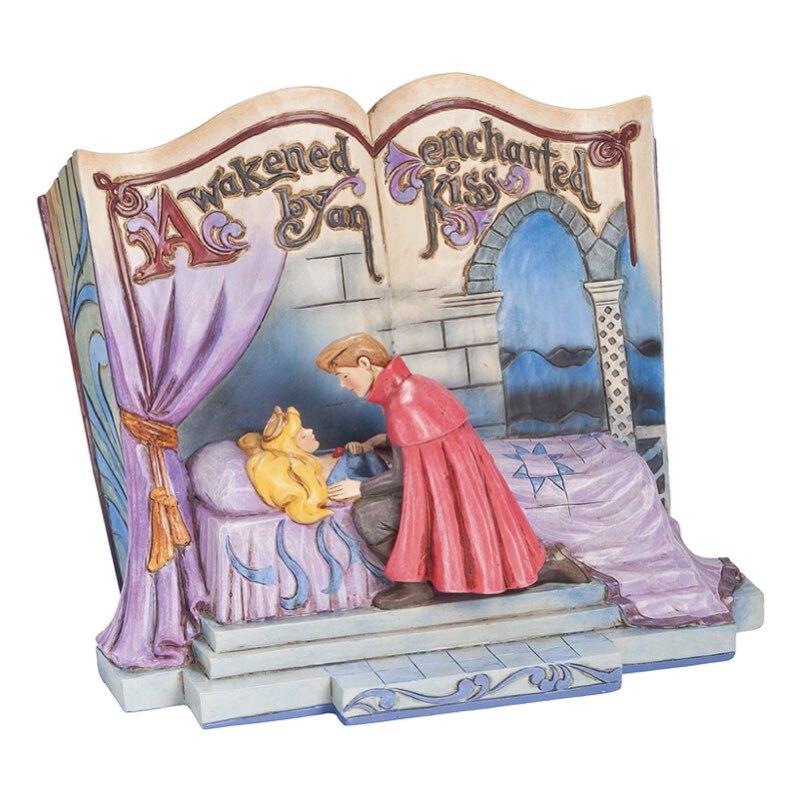 خرید مجسمه دیزنی زیبای خفته مدل کتاب داستان