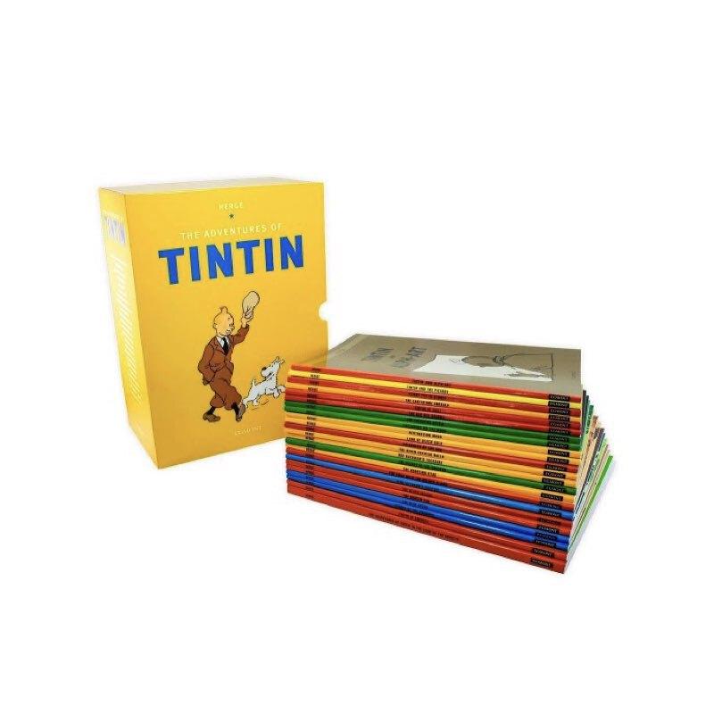 خرید کتاب تن تن، مجموعه ۲۳ تایی زرد رنگ