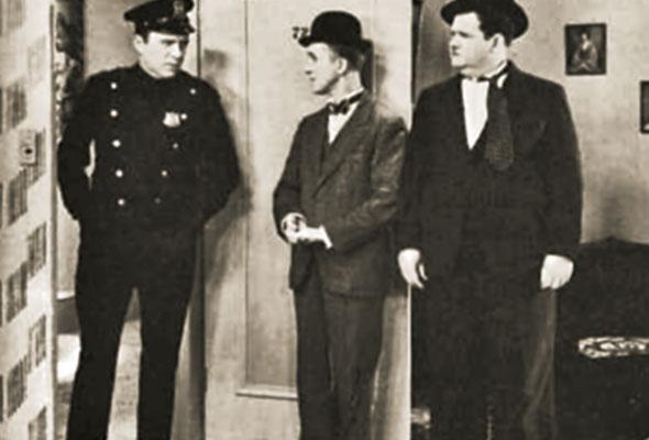 لورل هاردی، الگویی برای تامسون و تامپسون در ماجراهای تن تن