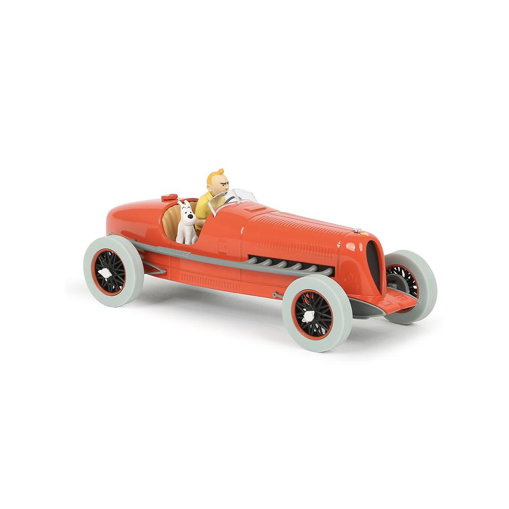 ماشین تن تن the red bolide 1/24 model car