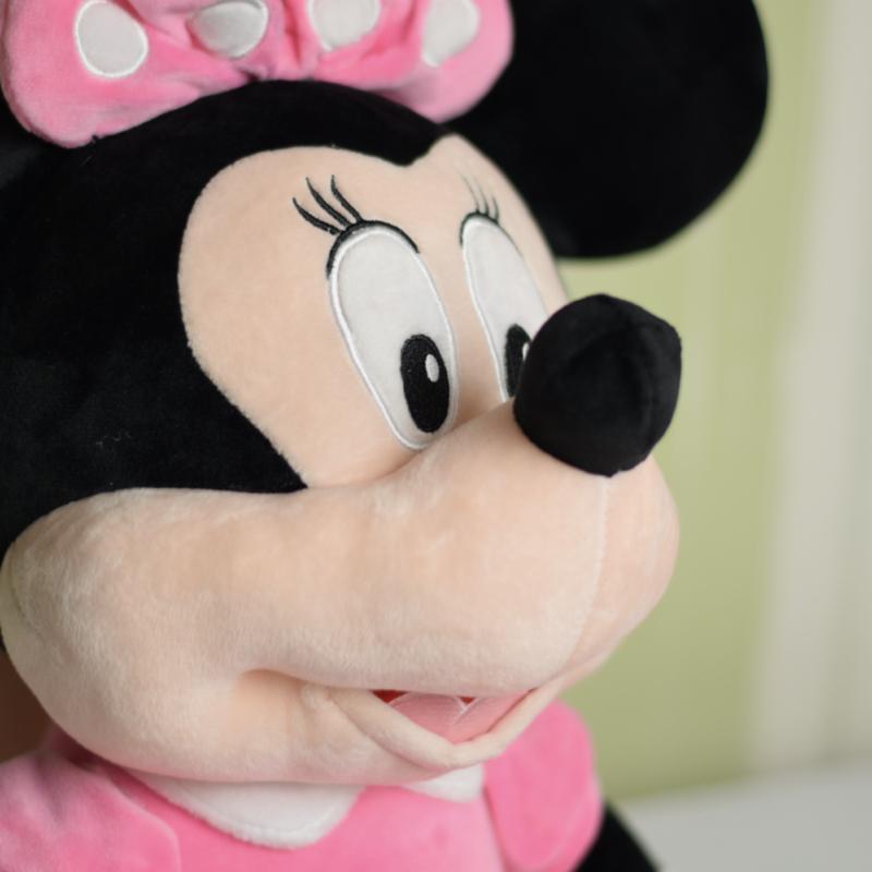 عروسک مینی موس با لباس صورتی