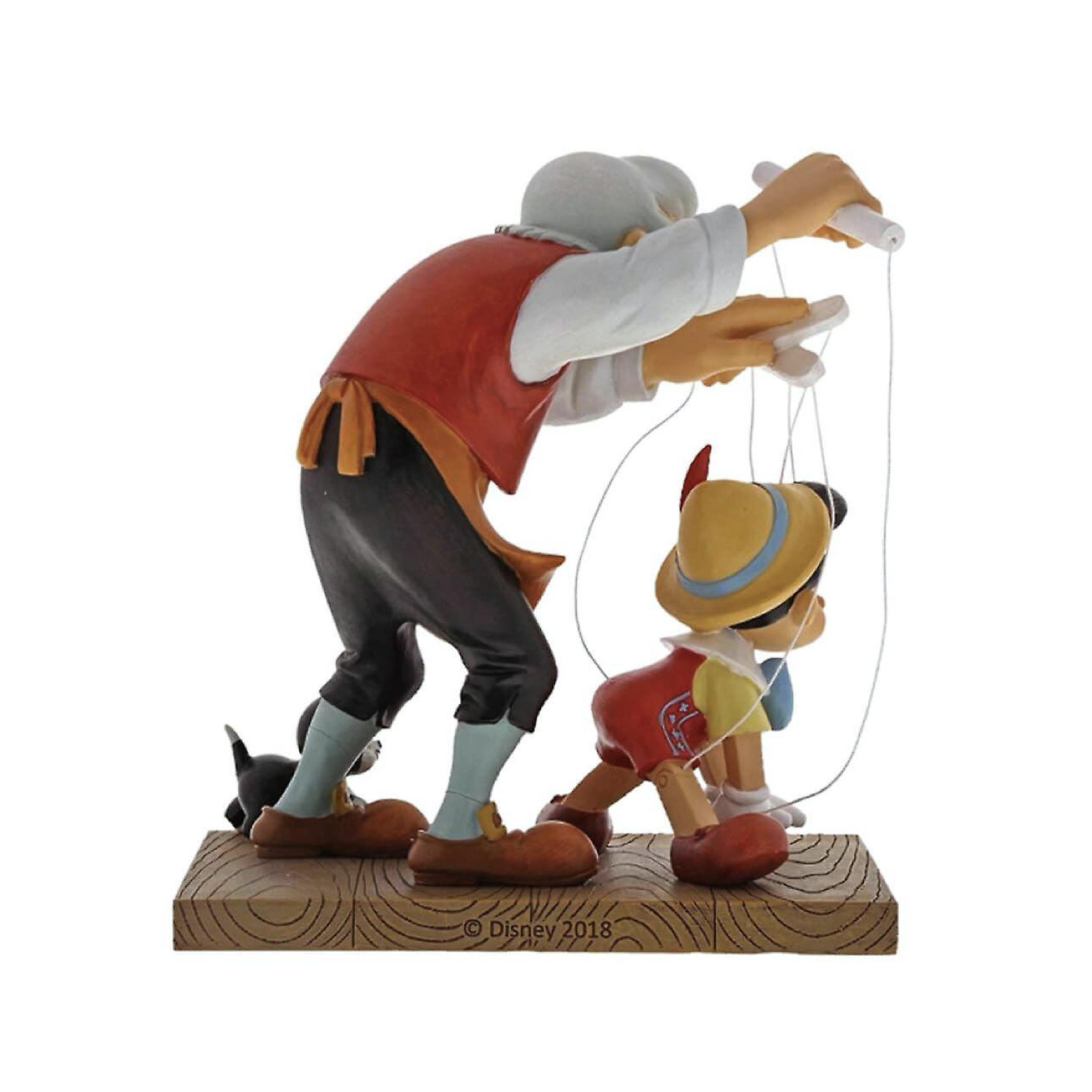 خرید مجسمه دیزنی مدل پینوکیو و پدر ژپتو