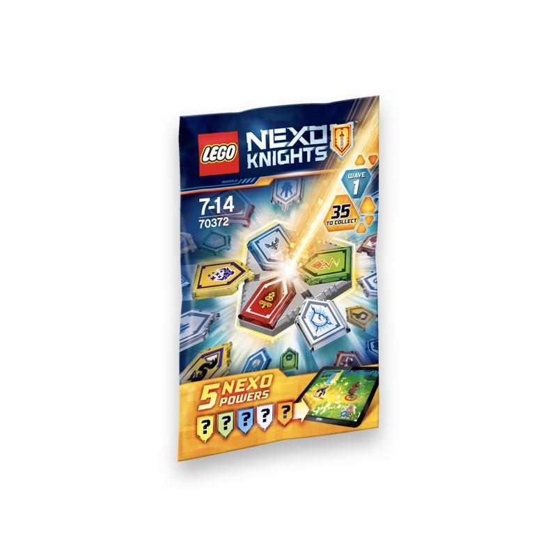 خرید فیگور شانسی لگو مدل nexo knights 1 nexo powers