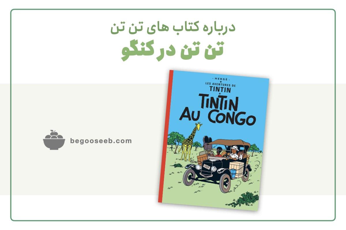 درباره کتاب تن تن در کنگو