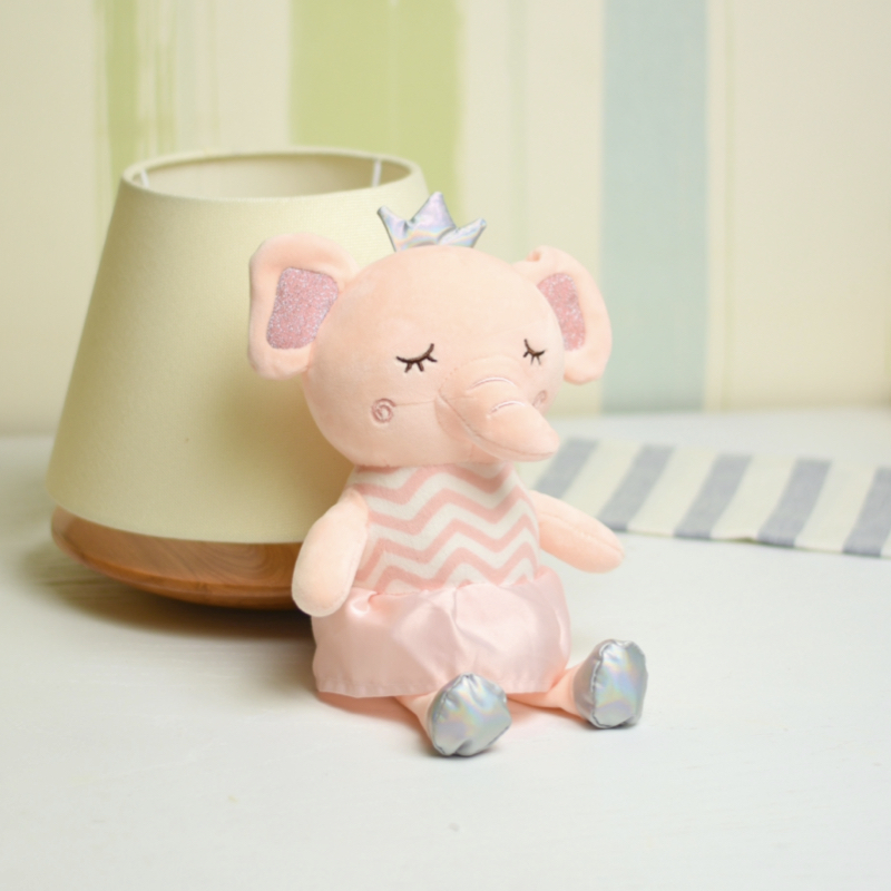 خرید عروسک فیل صورتی
