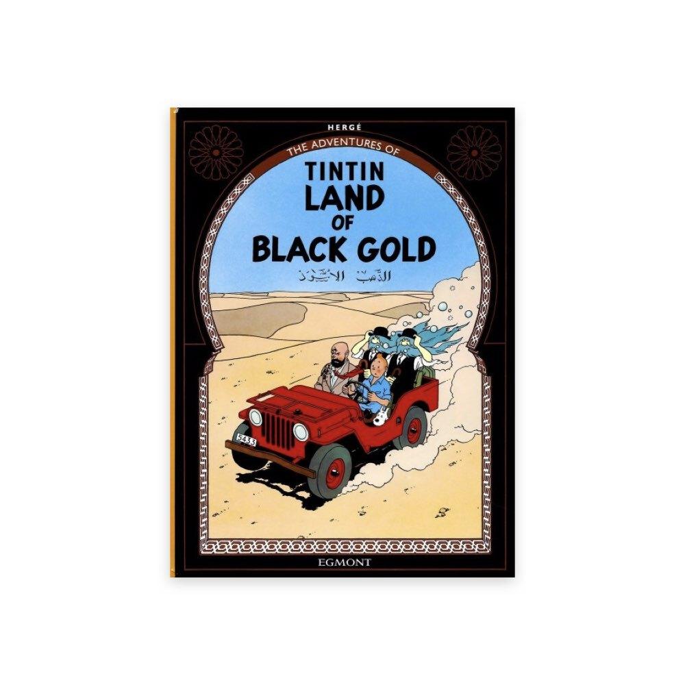خرید کتاب تن تن، سرزمین طلای سیاه