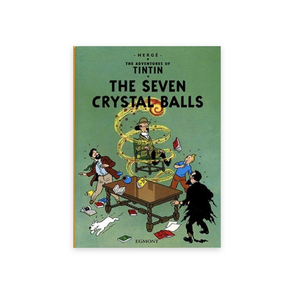 خرید کتاب انگلیسی تن تن، هفت گوی بلورین