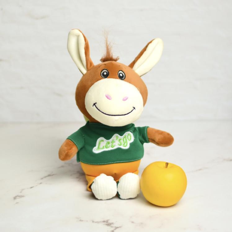 خرید عروسک پولیشی بچه الاغ