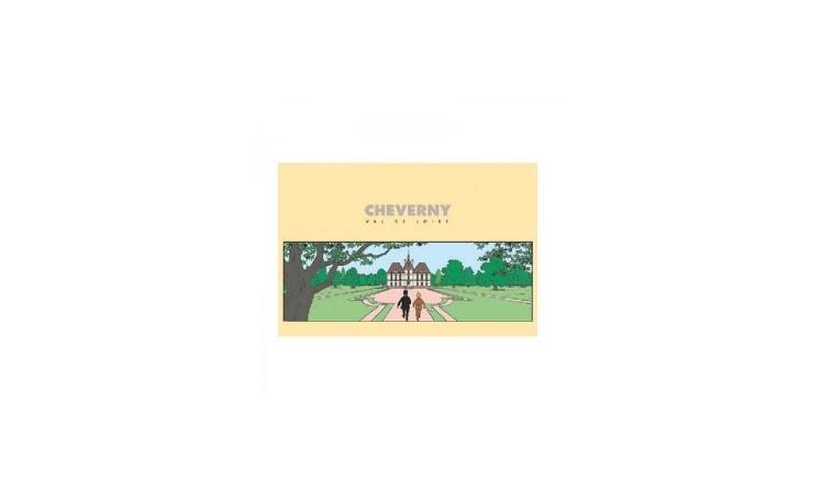 کارت پستال تن تن قصر مولینسارت