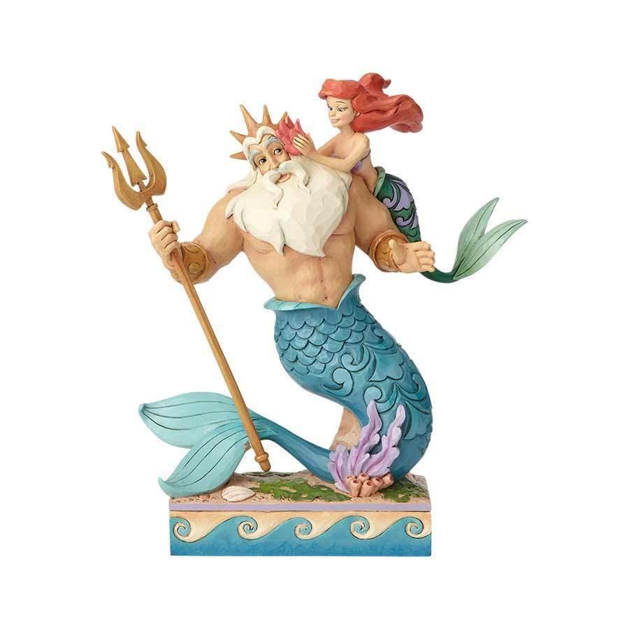 خرید مجسمه پری دریایی Ariel and Triton