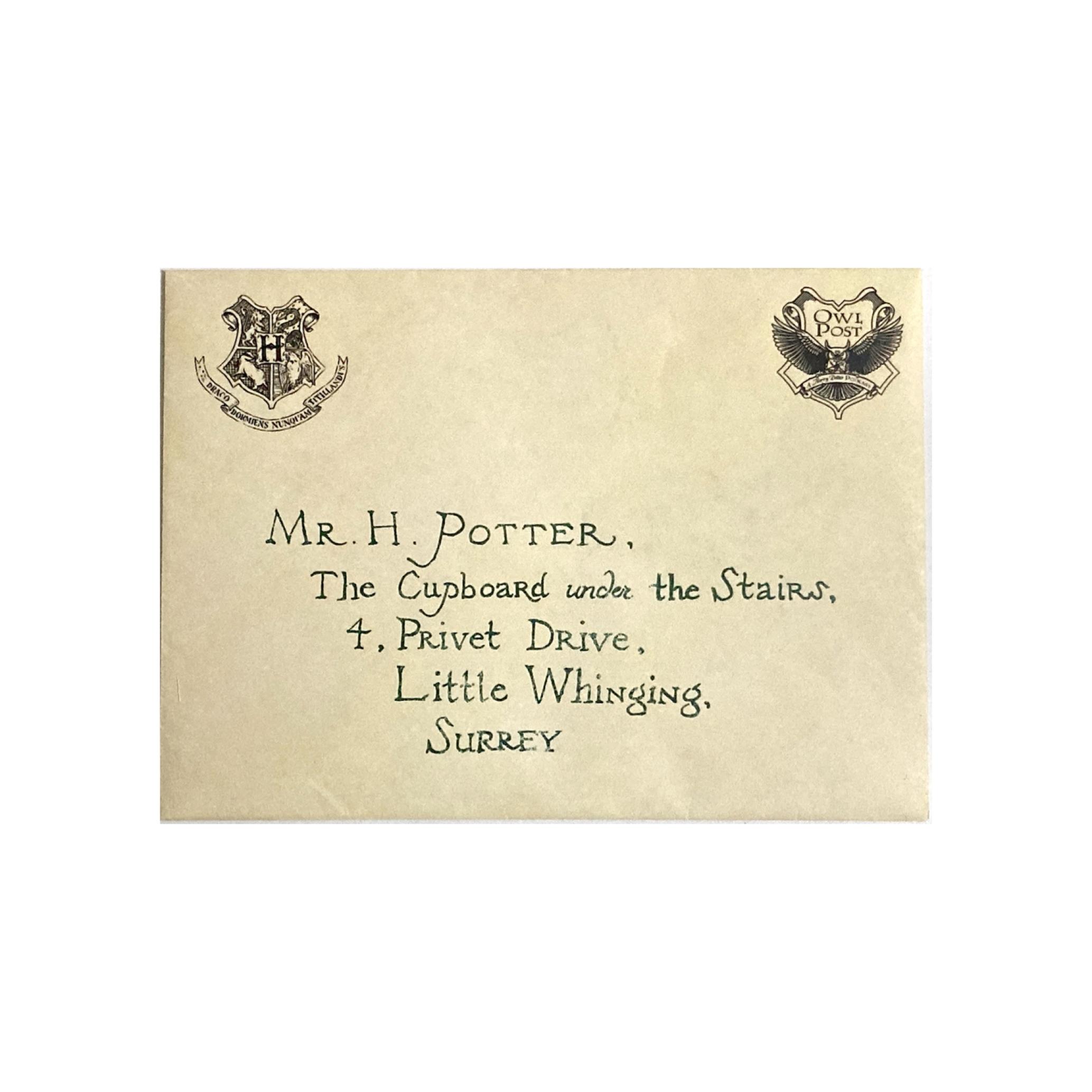خرید پاکت نامه هاگوارتز