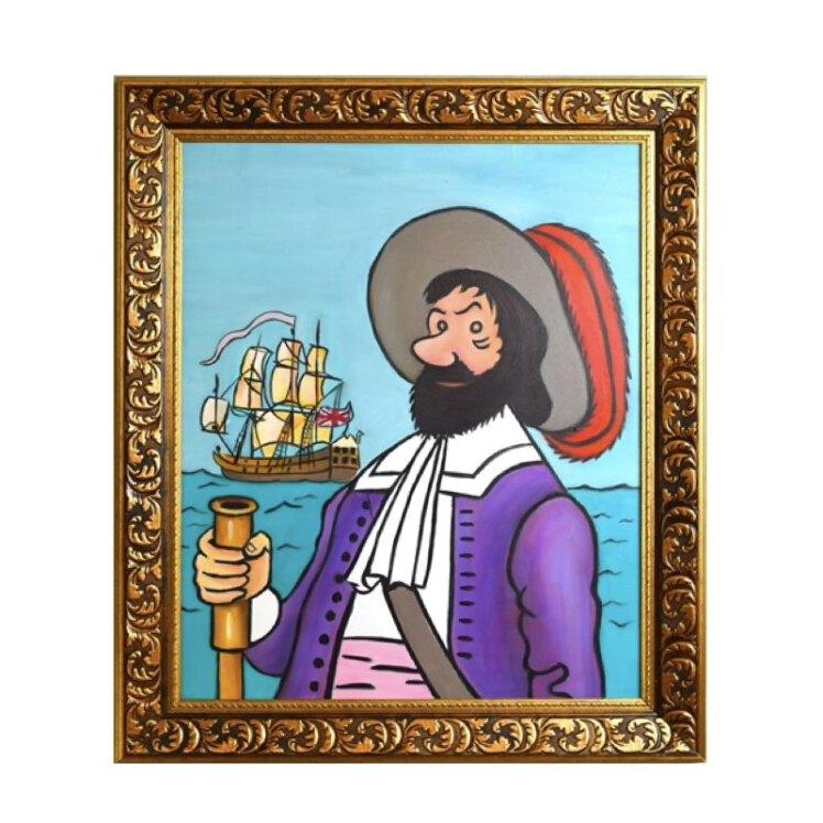 خرید تابلو نقاشی سر فرانسیس هادوک