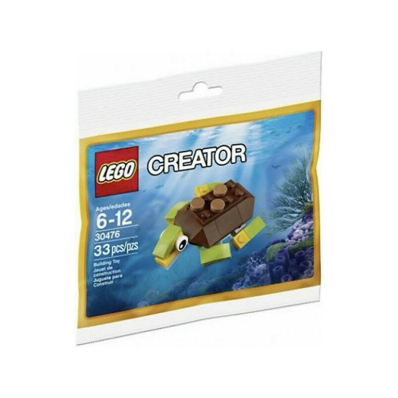 خرید فیگور لگو لاک پشت LEGO Creator Happy Turtle