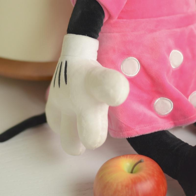 عروسک اورجینال مینی موس با لباس صورتی