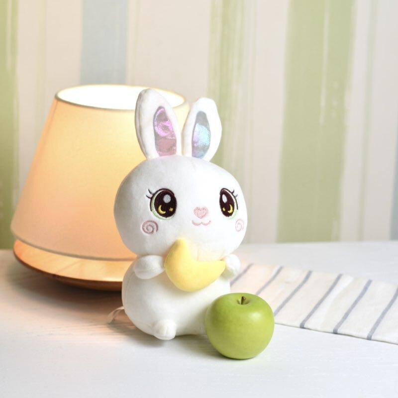 عروسک خرگوش سفید با ماه