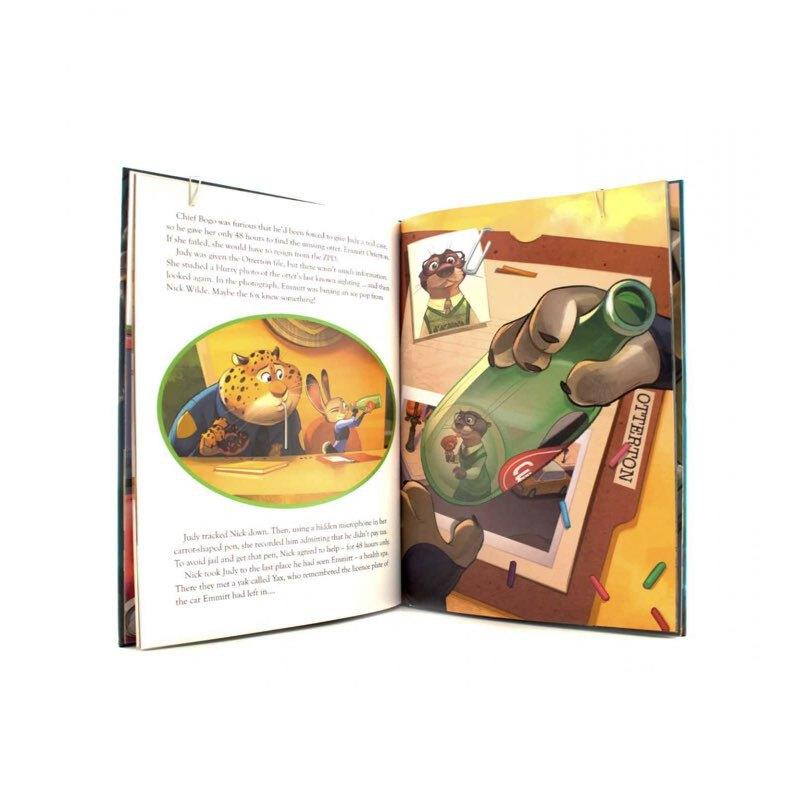 کتاب داستان انگلیسی زوتوپیا