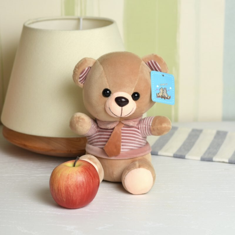 خرید عروسک خرس کوچولو با کراوات