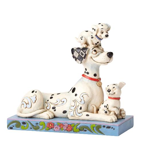 خرید مجسمه دیزنی مدل سگ خالدار puppy love