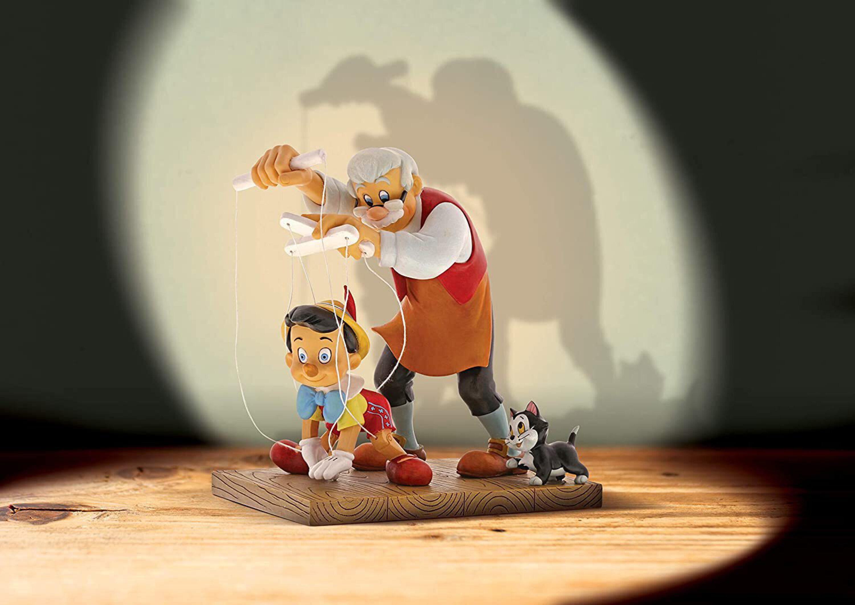فیگور پینوکیو و پدر ژپتو
