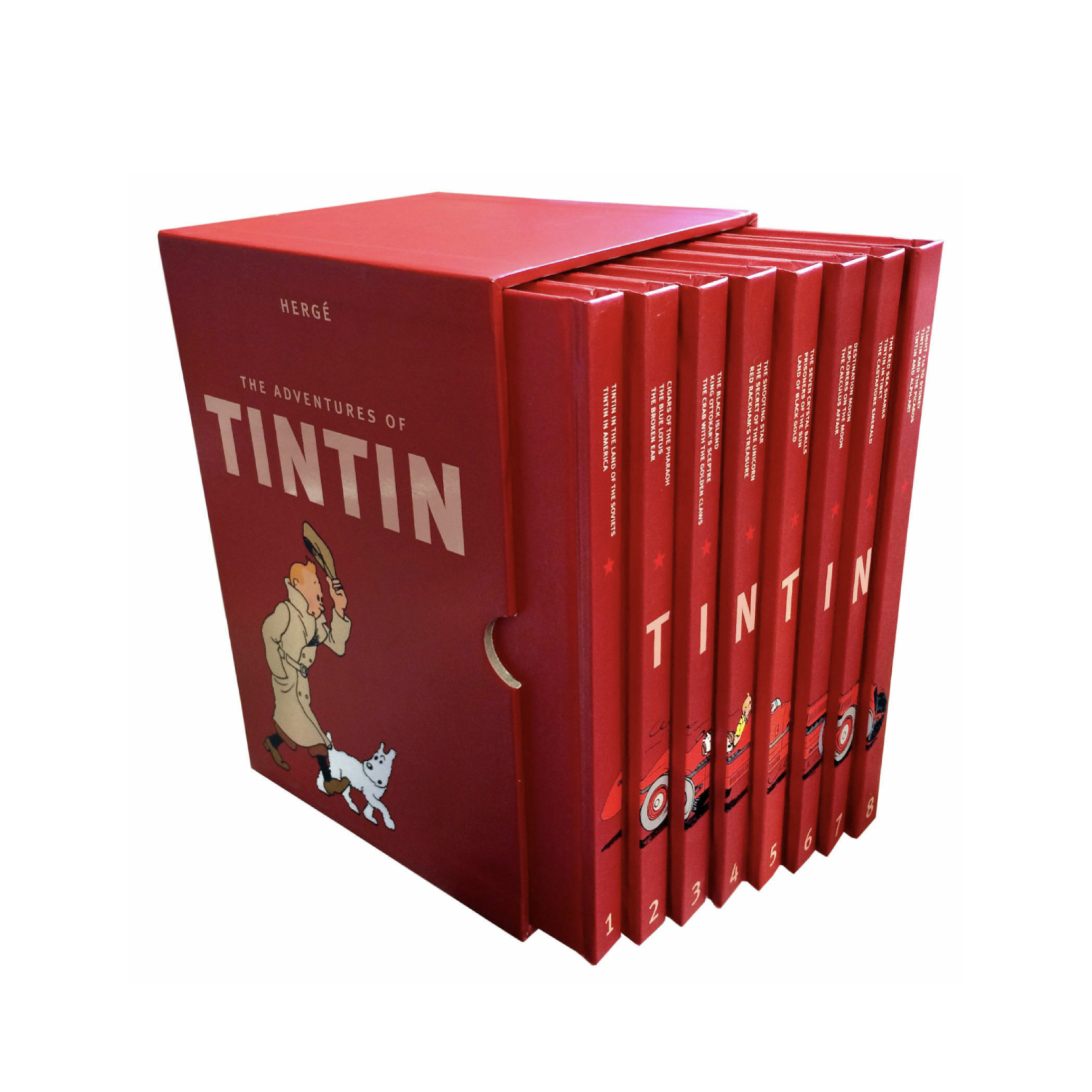 کتاب های اورجینال تن تن و میلو