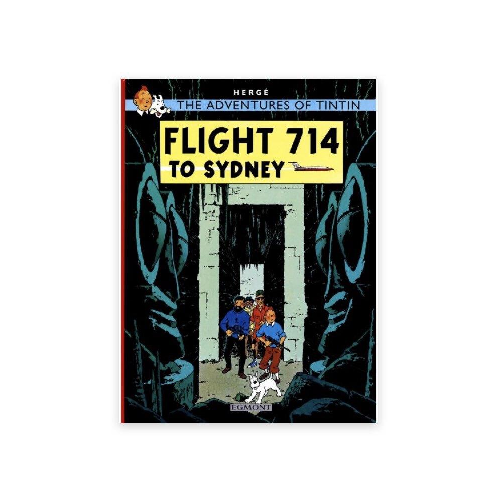 خرید کتاب تن تن، پرواز شماره ۷۱۴