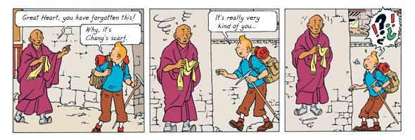 تن تن در تبت