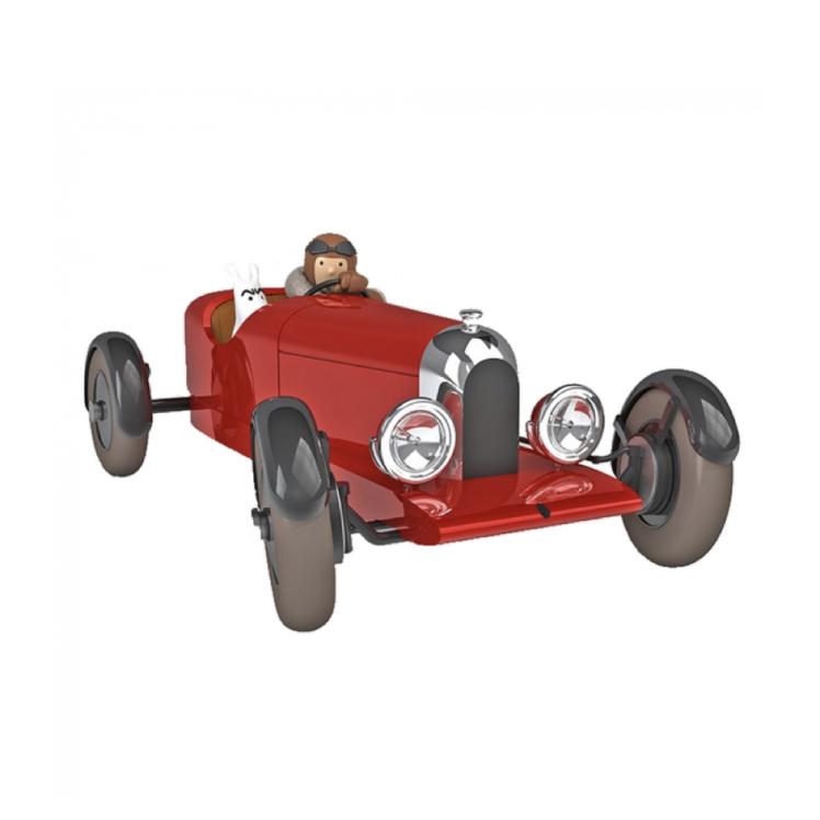 ماشین تن تن soviet amilcar – 1/24 model car