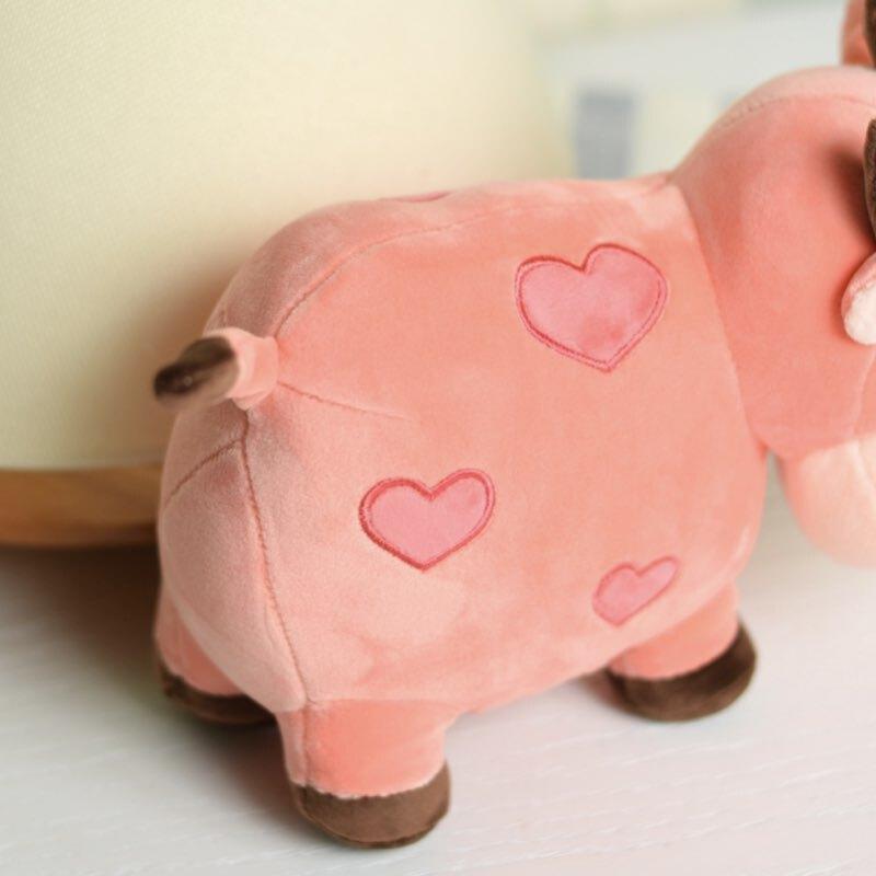 عروسک پولیشی گاو قلب دار