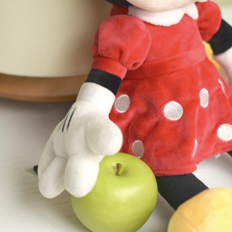 عروسک مینی موس با لباس قرمز