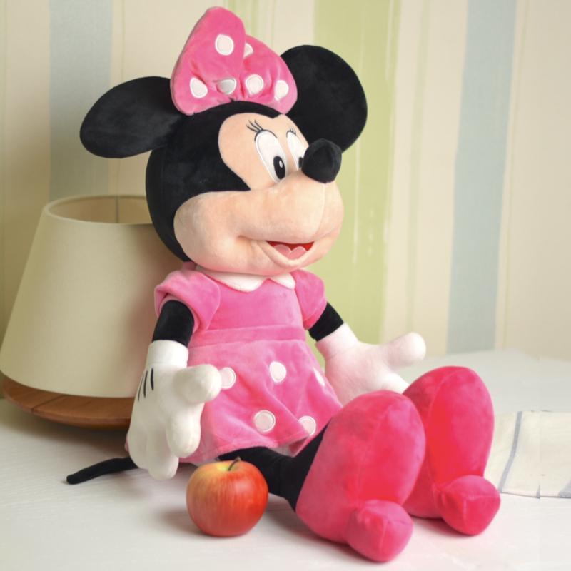خرید عروسک مینی موس با لباس صورتی