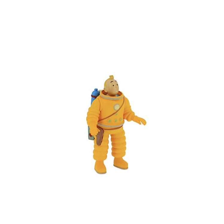 فیگور تن تن در لباس فضانوردی tintin in his moon suit