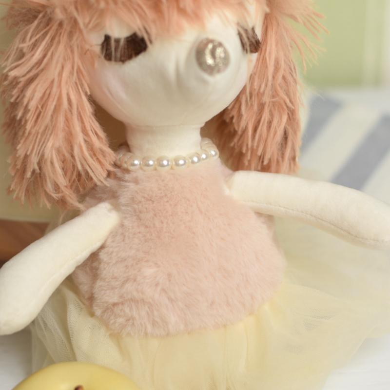 عروسک سگ اشرافی طلایی