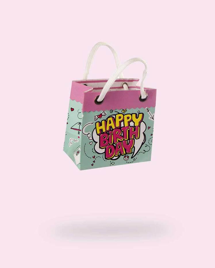 خرید گیفت بگ کوچک تولد