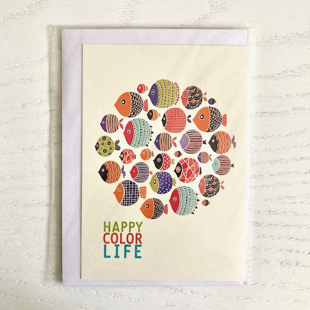 کارت پستال با طرح ماهی